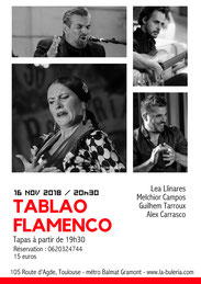 Tablao Toulouse affiche