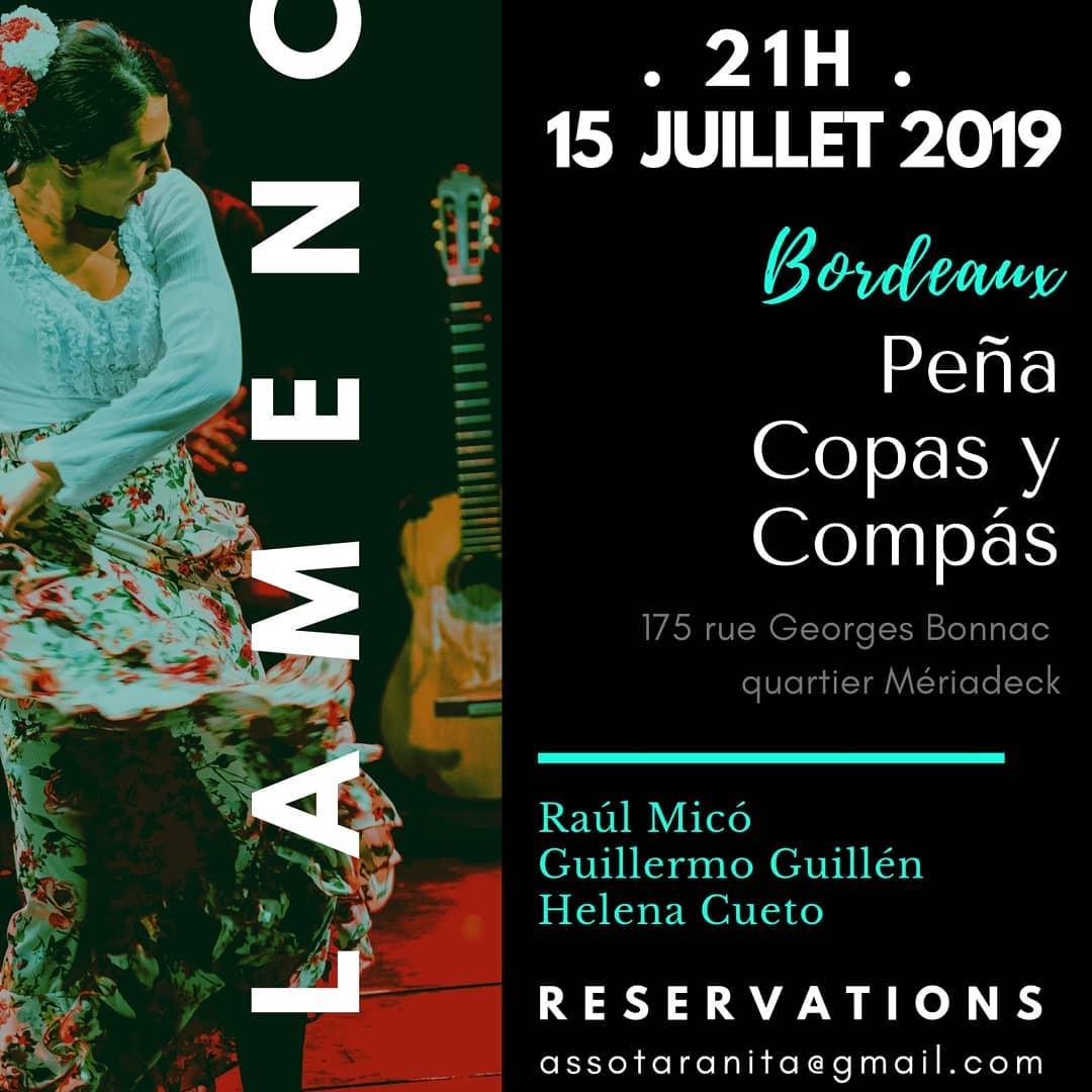Tablao affiche Bordeaux