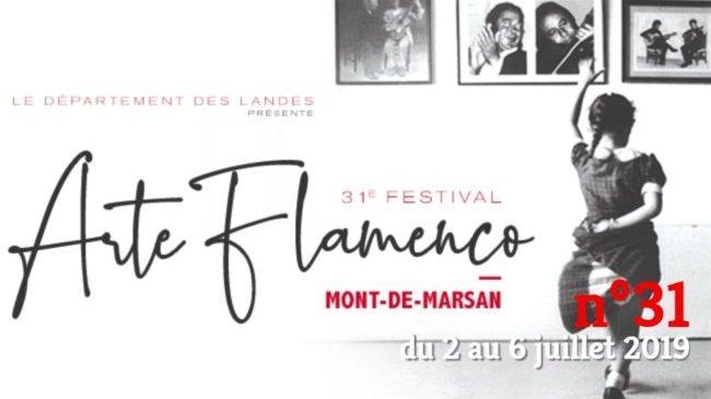 Mont de Marsan Arte Flamenco affiche