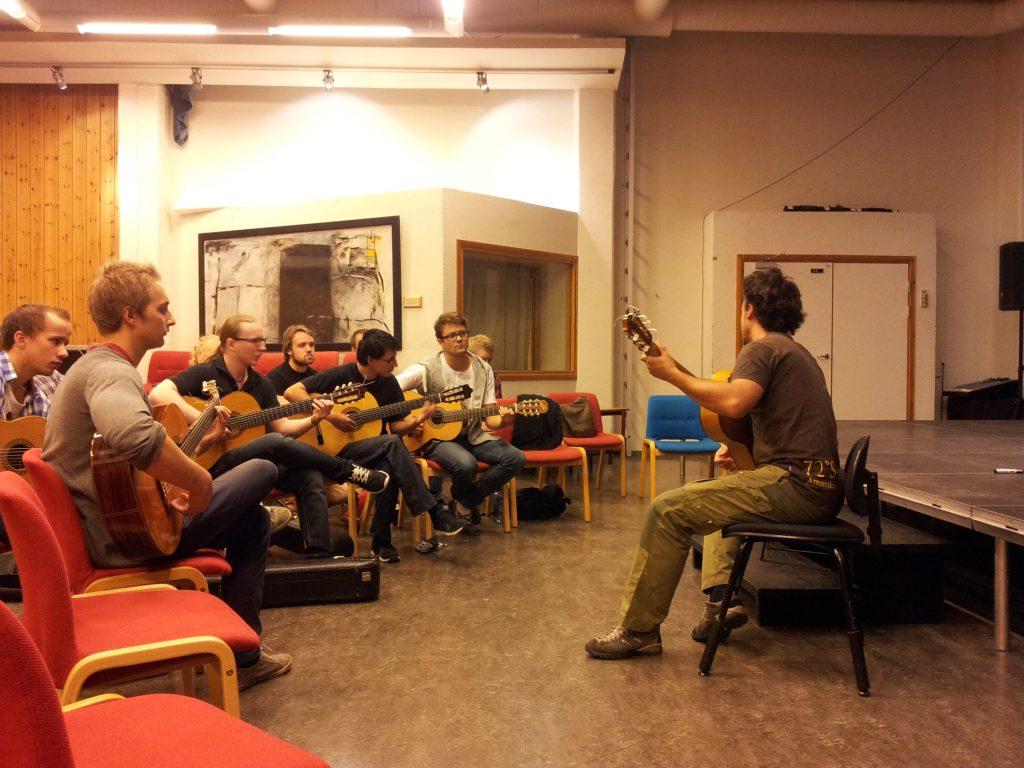 Masterclass Tromsø Conservatory