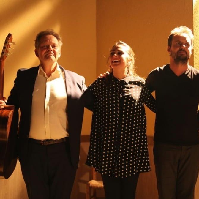 Michel Grizard, Helena Cueto, Guillermo Guillén