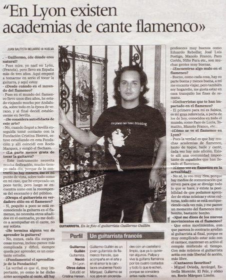 Guillermo Guillén - Correo de Huelva