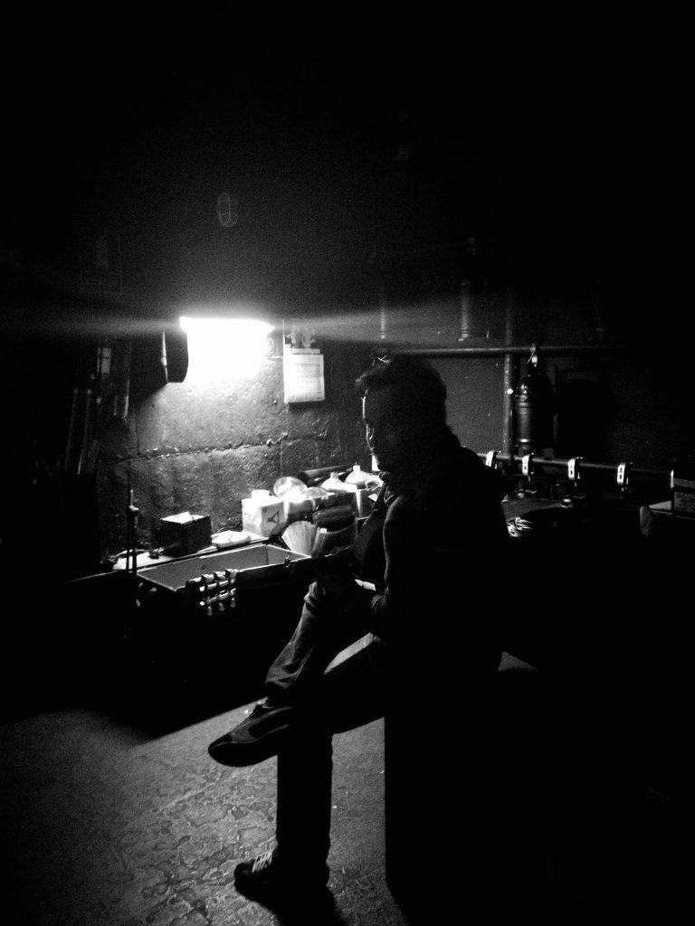 Backstage Guillermo Guillén