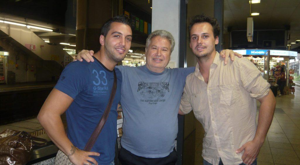 Cristian Guerrero, José Galván & Guillermo Guillén