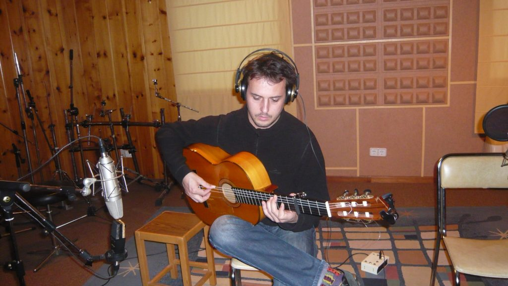 Musitron Guillermo Guillén Recording 1
