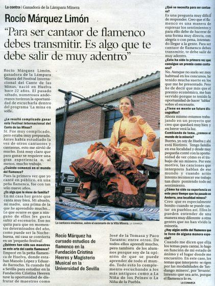 Rocio Márquez Teruel News