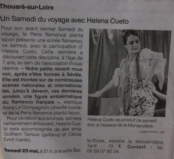 Helena Cueto Thouaré News